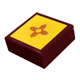 NEW MEXICO FLAG Keepsake Box