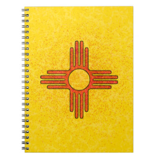 NEW MEXICO FLAG Spiral Notebook