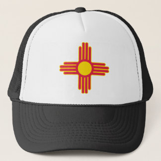 New Mexico Flag Theme 00 Trucker Hat