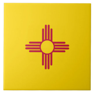 New Mexico Flag Tile