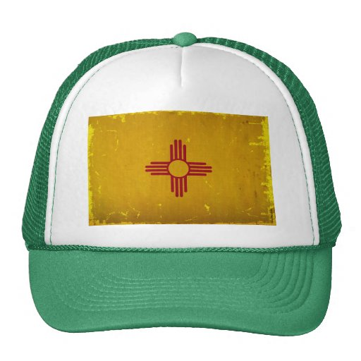 New Mexico Flag VINTAGE.png Hats