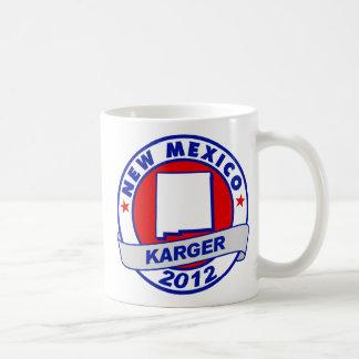 New Mexico Fred Karger Basic White Mug