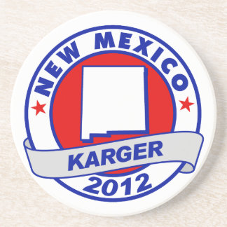 New Mexico Fred Karger Coaster