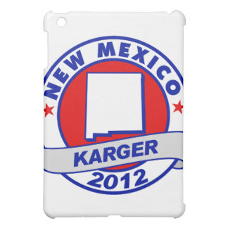 New Mexico Fred Karger iPad Mini Cases