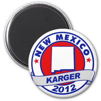 New Mexico Fred Karger Refrigerator Magnets