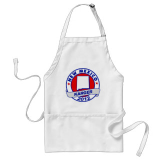 New Mexico Fred Karger Standard Apron