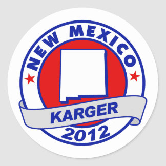 New Mexico Fred Karger Sticker