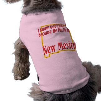 New Mexico - God Loves Me Shirt