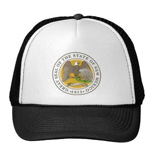 New Mexico Great Seal Mesh Hats