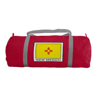 New Mexico Gym Duffel Bag