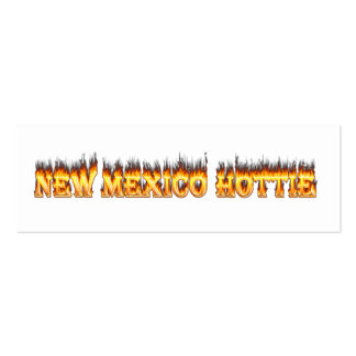 New Mexico hottie fire and flames Pack Of Skinny Business Cards