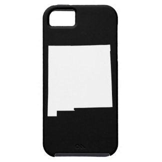 New Mexico in White and Black iPhone 5 Covers