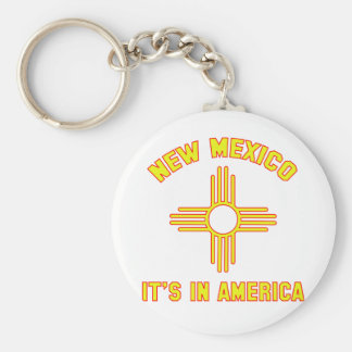 New Mexico - It's in America Key Ring