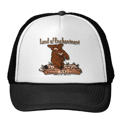 New Mexico Land of Enchantment Bear Hats