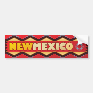 New Mexico - Land of Enchantment Bumper Sticker