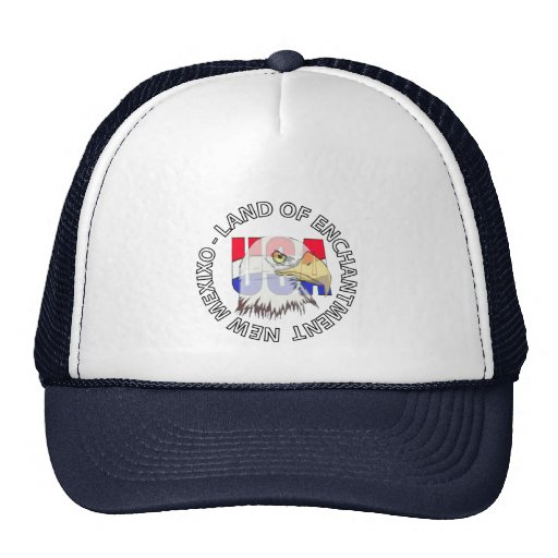 New Mexico Land Of Enchantment USA Hat