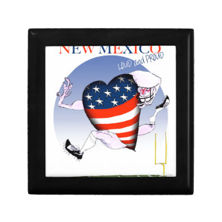 new mexico loud and proud, tony fernandes small square gift box