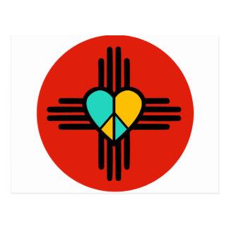 New Mexico, Love, Peace Postcard