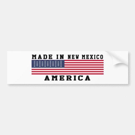 New Mexico Made In Designs Bumper Stickers