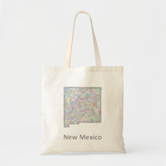 New Mexico map Tote Bag