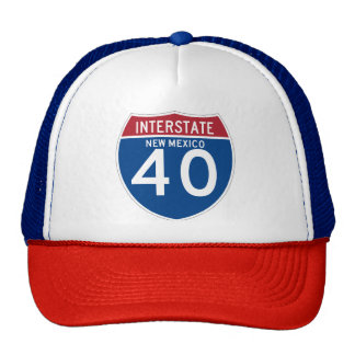 New Mexico NM I-40 Interstate Highway Shield - Cap