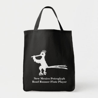 New Mexico Petroglyph Road Runner Tote Bag