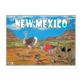 """New Mexico Postcard """"We miss you..."""" by Jessica H."""
