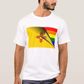 New Mexico Rainbow Flag T-Shirt
