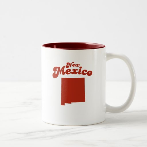 NEW MEXICO Red State Mugs