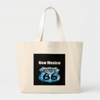 new mexico route 66 large tote bag