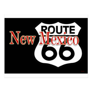 New Mexico Route 66 Postcard
