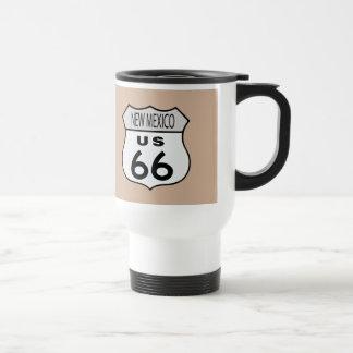 New Mexico Route 66 Travel Mug