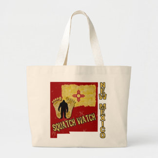 New Mexico Squatch Watch Jumbo Tote Bag