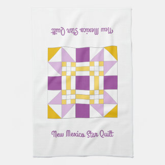 New Mexico Star Quilt Pattern Kitchen Towel