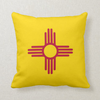 New Mexico State Flag American MoJo Pillow