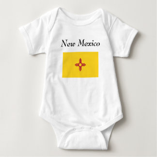 New Mexico State Flag Baby Bodysuit