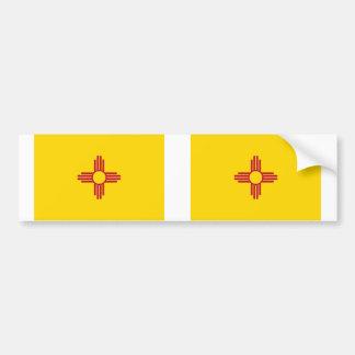 New Mexico state flag Car Bumper Sticker