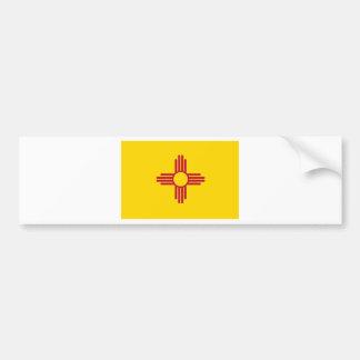 New Mexico State Flag Bumper Sticker