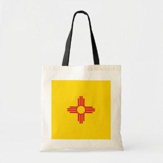 New Mexico State Flag Design Budget Tote Bag