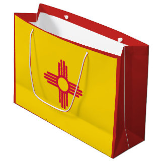New Mexico State Flag Gift Bag
