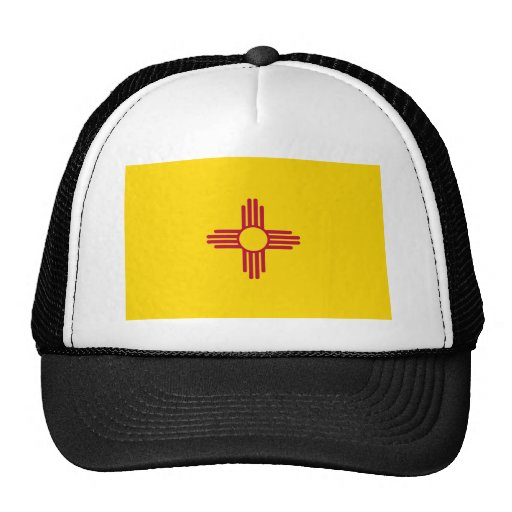 New Mexico State Flag Hat