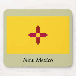 New Mexico State Flag Mouse Pad