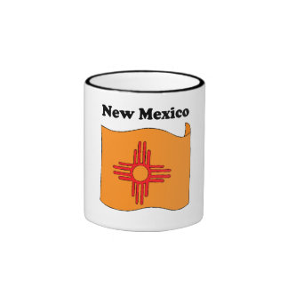 New Mexico State Flag Coffee Mugs