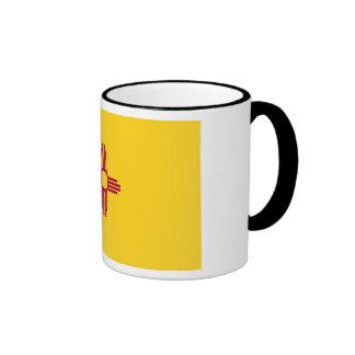 New Mexico State Flag Ringer Mug