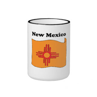 New Mexico State Flag Mugs