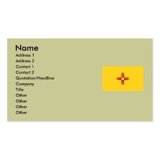 New Mexico State Flag Pack Of Standard Business Cards