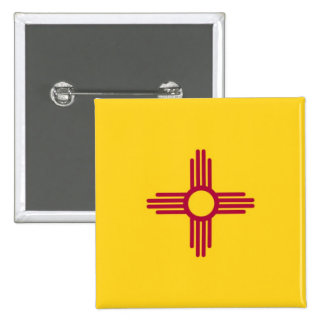 New Mexico State Flag Pin
