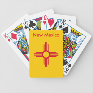 New Mexico State Flag Playing Cards