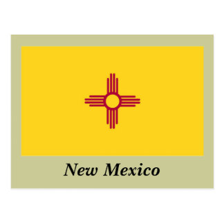New Mexico State Flag Postcards