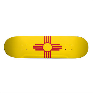 New Mexico State Flag Skate Deck